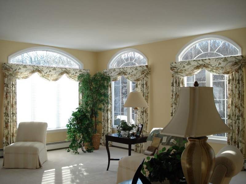 Custom Window Treatment in Northborough